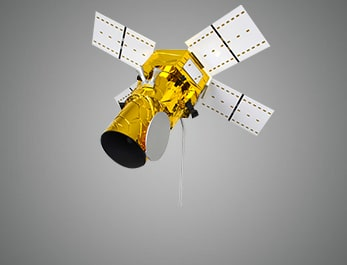 Satellite model.