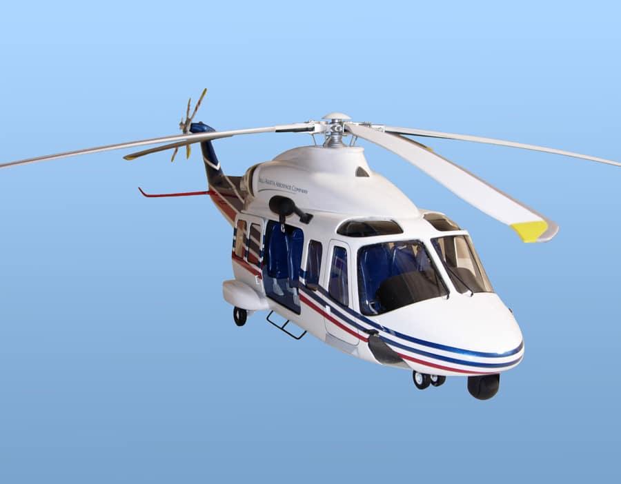 10th Scale Chevron Texaco AB139 Helicopter Model