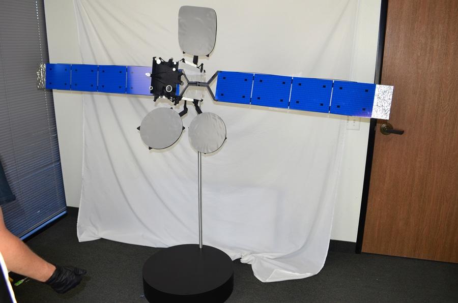 10th Scale Thaicom 8 Satellite Model