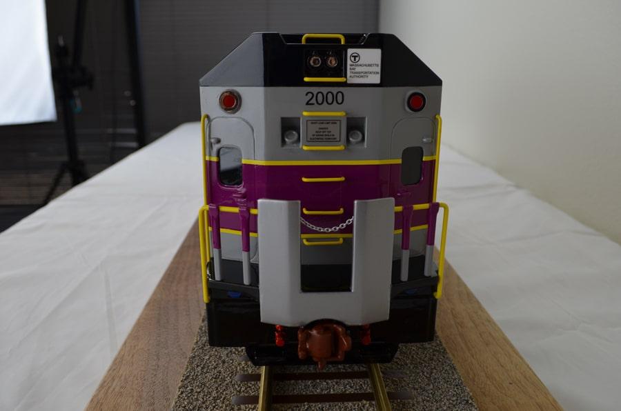 24th Scale MotivePower Locomotive Train Model