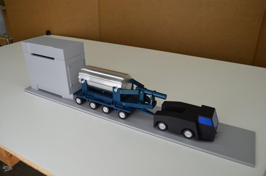 24th Scale NUHOMS DSFSS Vehicle Model