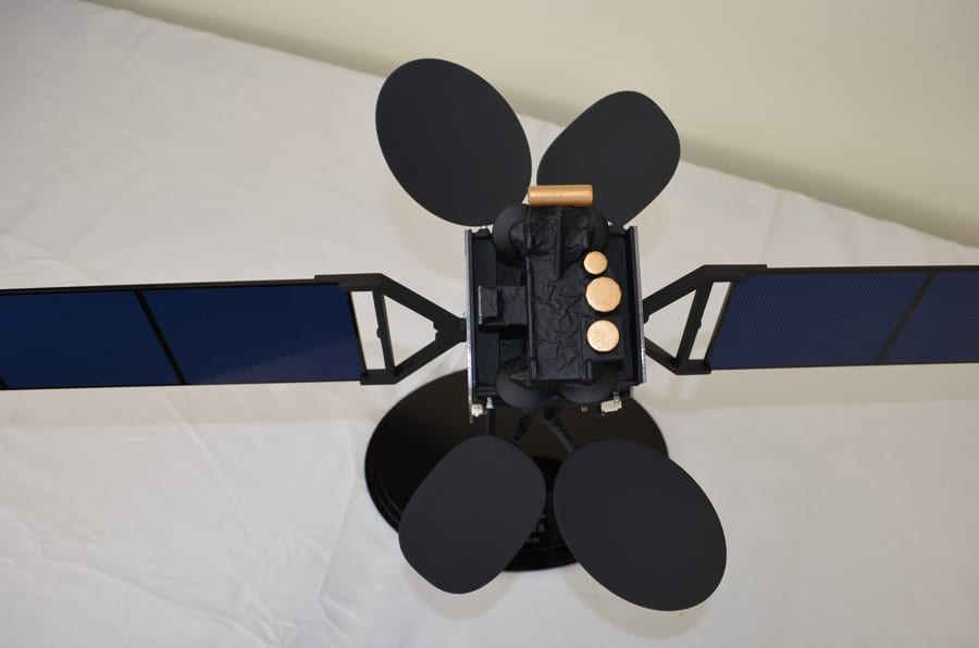 30th Scale AsiaSat 8 Satellite Model