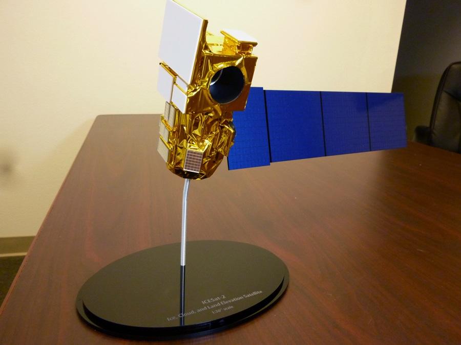 30th Scale ICESat Satellite Model