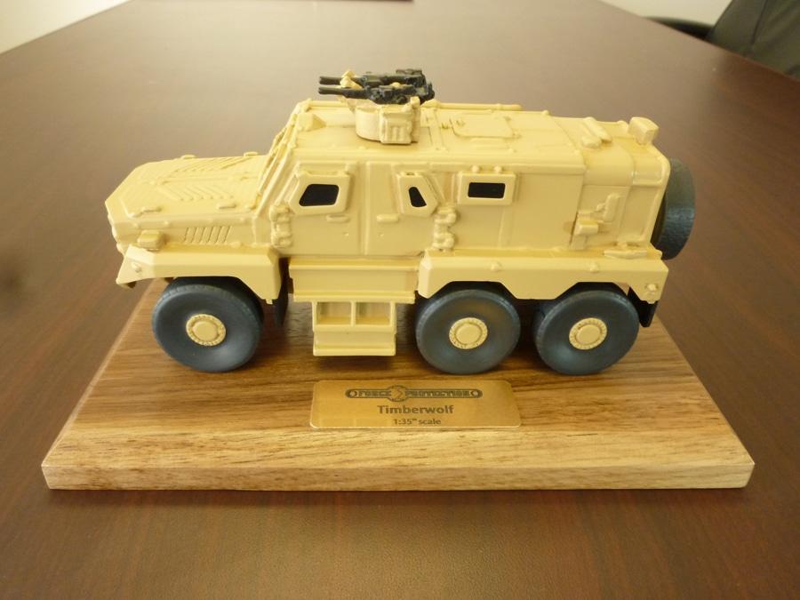 35th Scale Timberwolf Vehicle Model