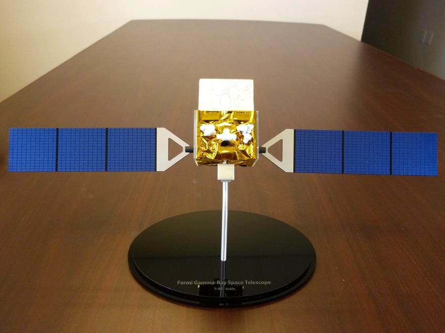 40th Scale Fermi Satellite Model