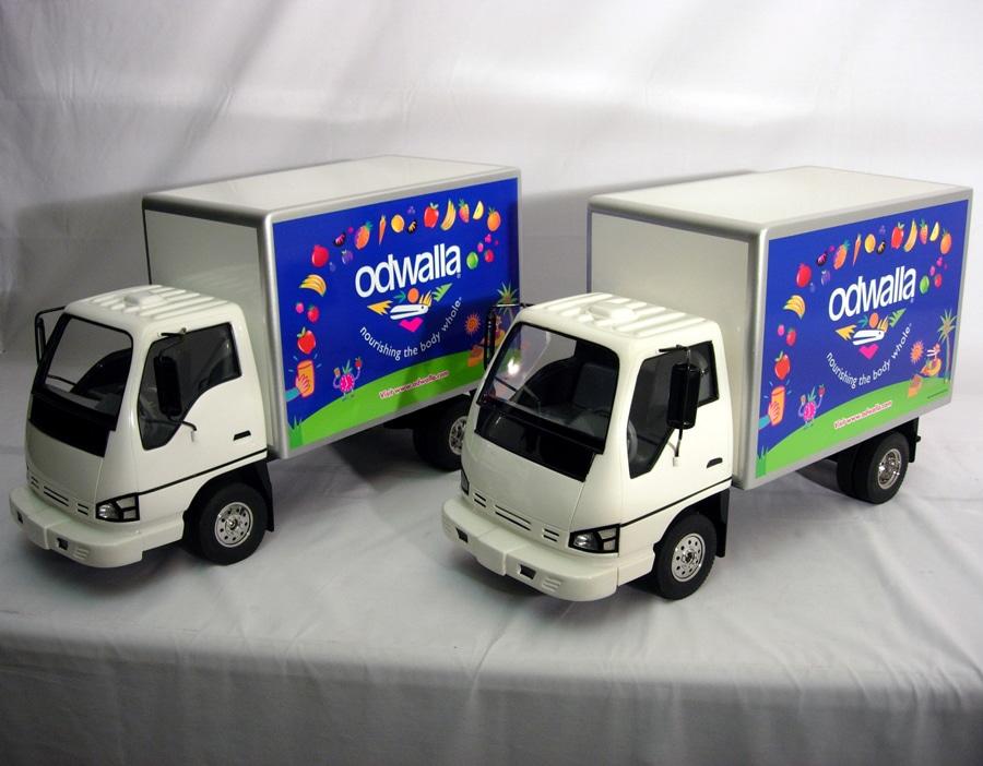 8th Scale Odwalla Truck Models