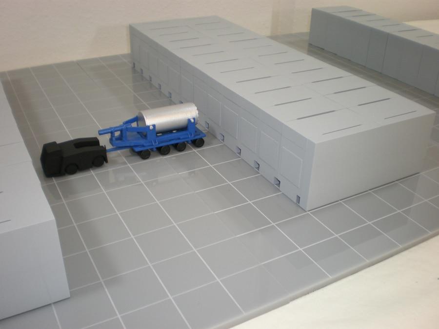 96th Scale NUHOMS DSFSS Vehicle Model