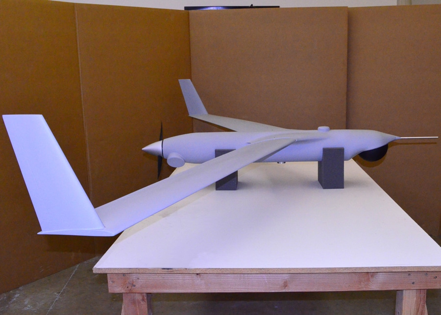 Full Scale Scan Eagle Aircraft Model