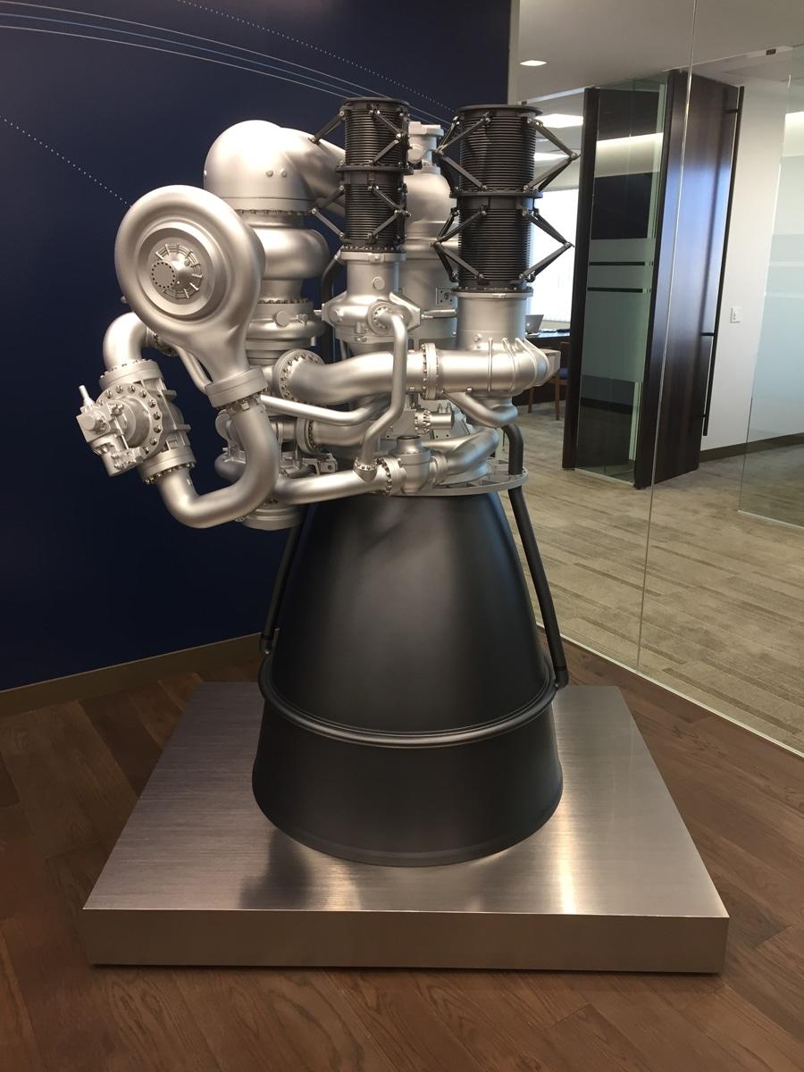 Aerojet Rocketdyne AR1 Engine Model