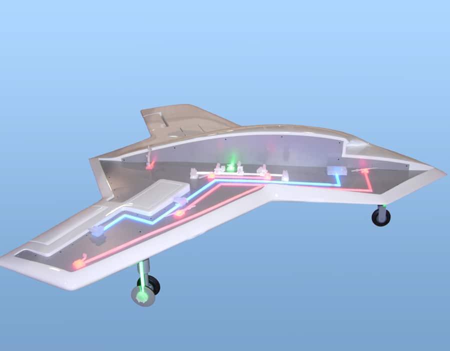 Parker UAV Aircraft Model