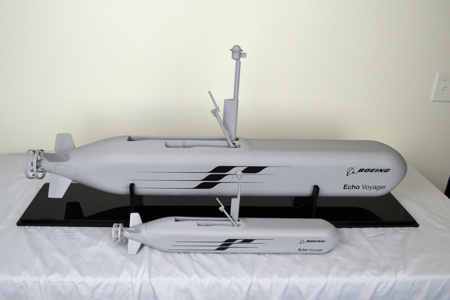 15th and 30th scale EchoVoyager Submarine Models