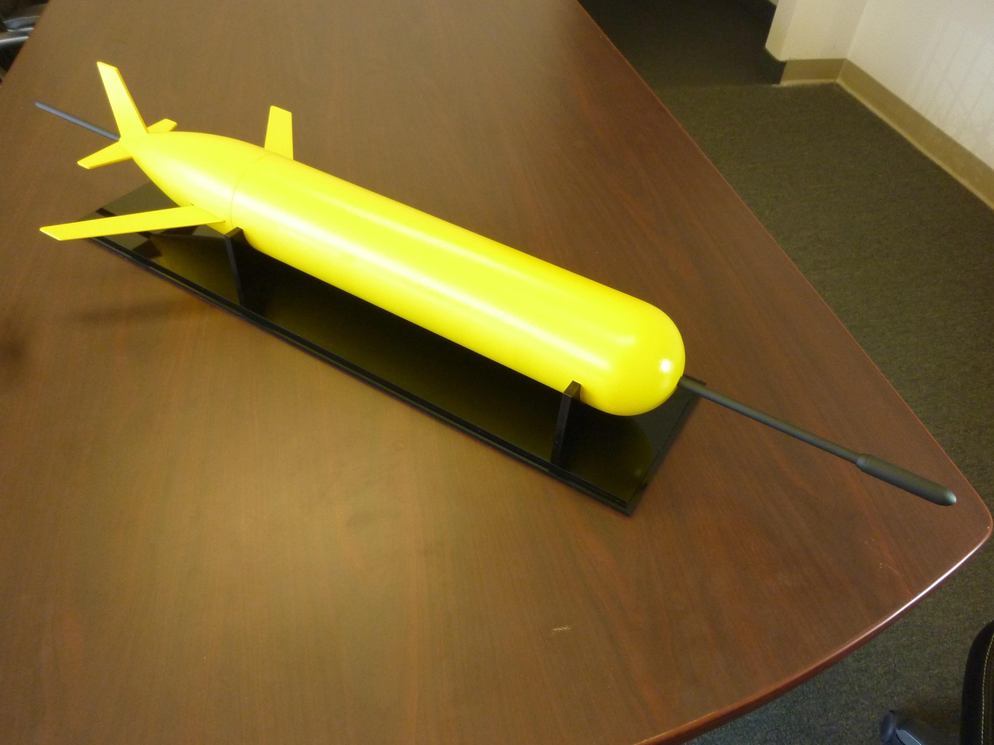 Coastal Glider Submarine Model