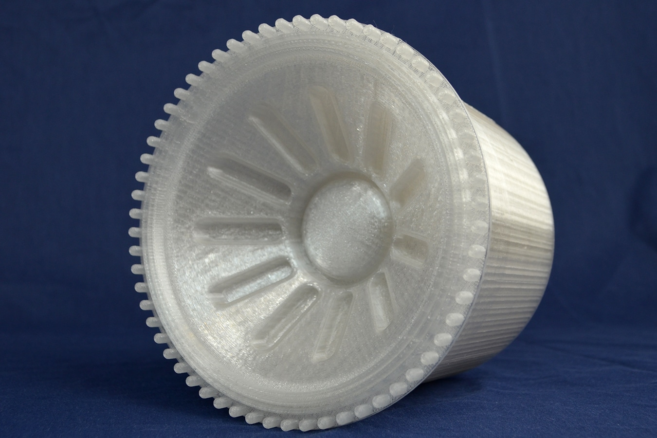FDM 3D Printed PC ISO Part