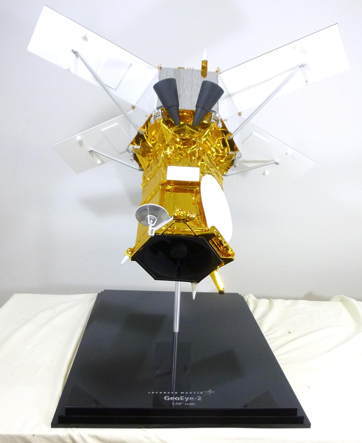 Lockheed Martin GeoEye-2 Satellite Model