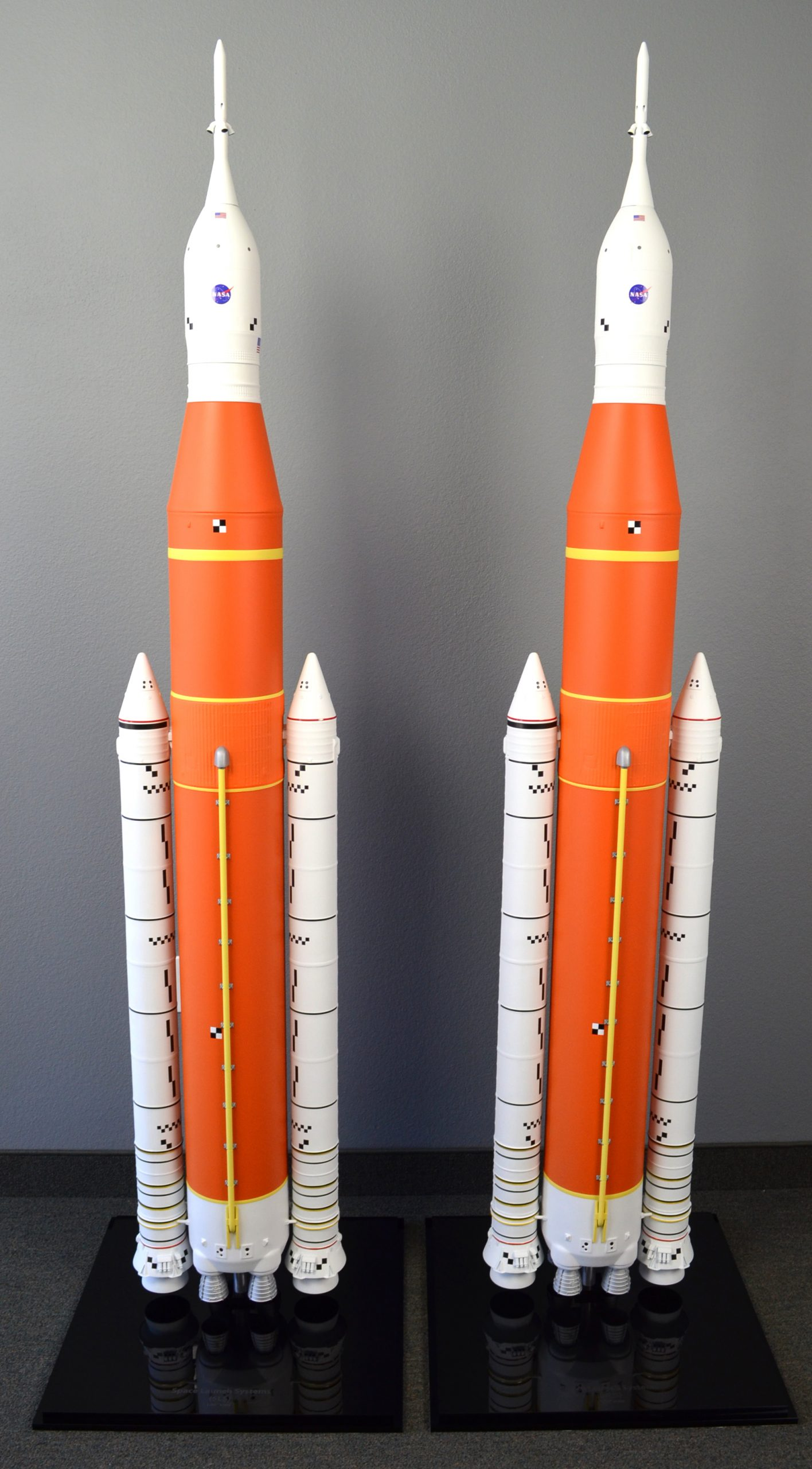 NASA SLS Block 1 Artemis Rocket Model